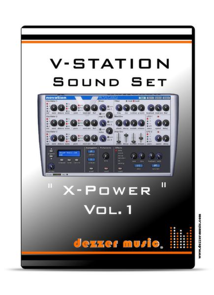 X-Power Vol. 1 - Sound Patches for novation V-Station