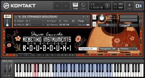 Virtual Bouzouki and Rebetiko Instruments