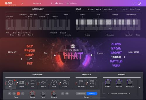 Virtual Drummer Phat 2