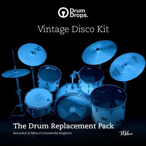 vintage disco kit - drum replacement pack