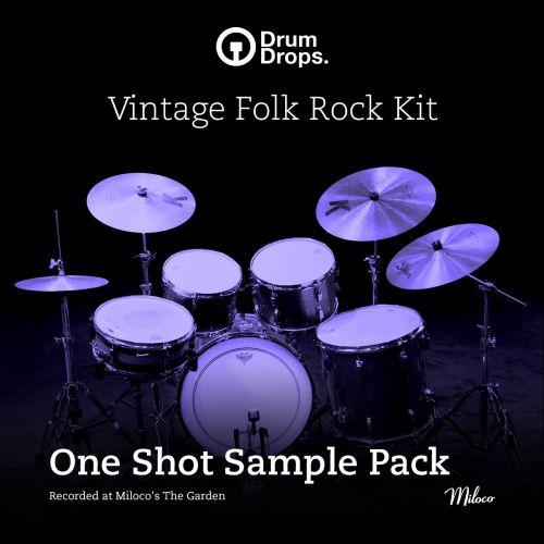 Vintage Folk Rock Kit - One Shot Sample Pack