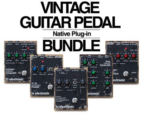Vintage Guitar Pedal Bundle