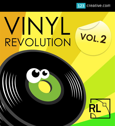 Vinyl Revolution Vol.2 - Drum Samples