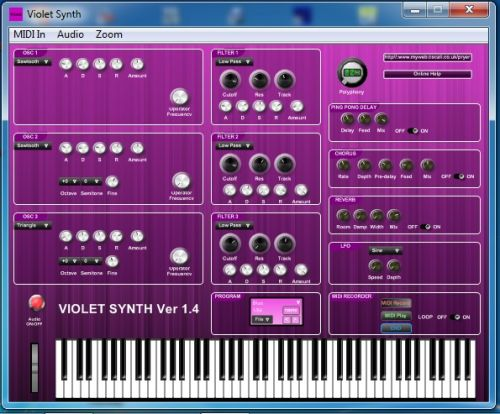 Violet Synth