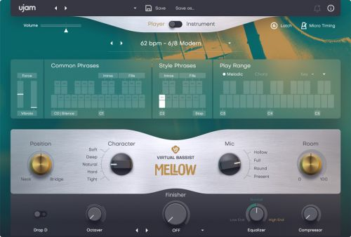 Virtual Bassist MELLOW 2