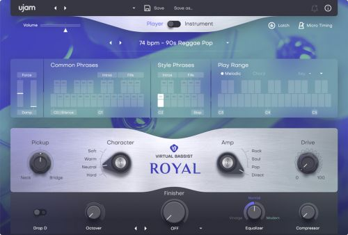 Virtual Bassist ROYAL 2
