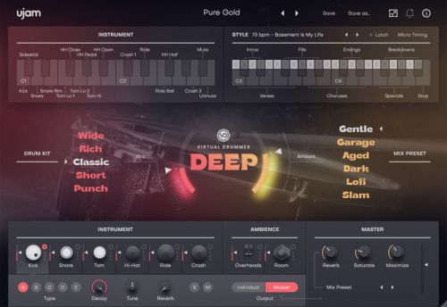Virtual Drummer DEEP