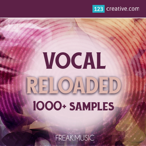 Vocal Reloaded - 1000+ vocal samples and loops