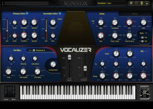 Vocalizer Vocal Production Synthesizer