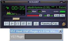 VST Host WinAmp Bridge