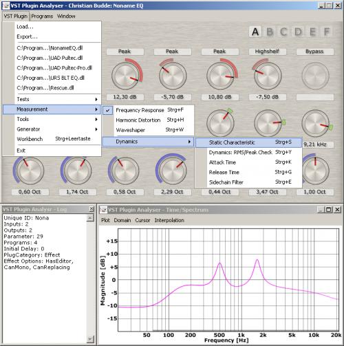 VST Plugin Analyser