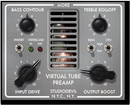 Virtual Tube Preamp (VTP)