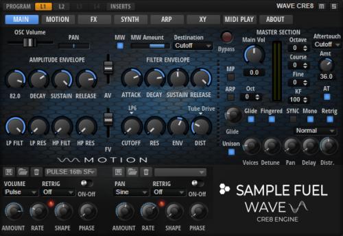 Sample Fuel - Wave CRE8
