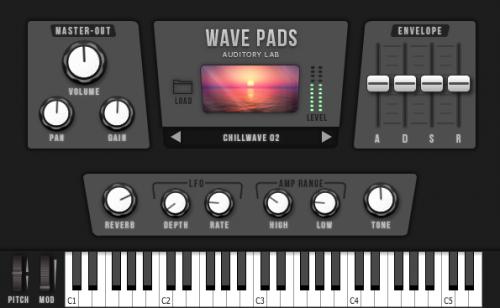 Wave Pads Virtual Instrument Plugin - (Pc/Mac VST, AU)