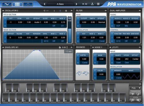 PPG Wavegenerator Sound Library