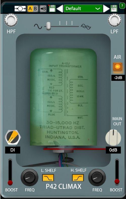 P42 Climax Line Amp