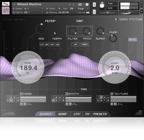Whoosh Machine (Kontakt)