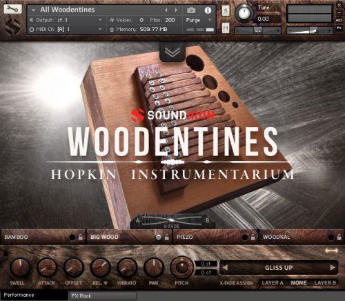 Hopkin Instrumentarium: Woodentines