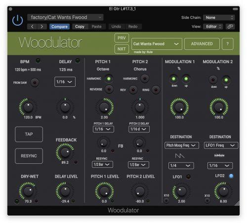 Woodulator