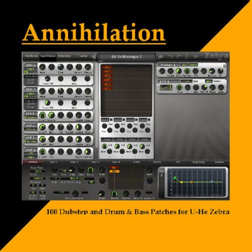 Annihilation Dubstep/DnB for Zebra