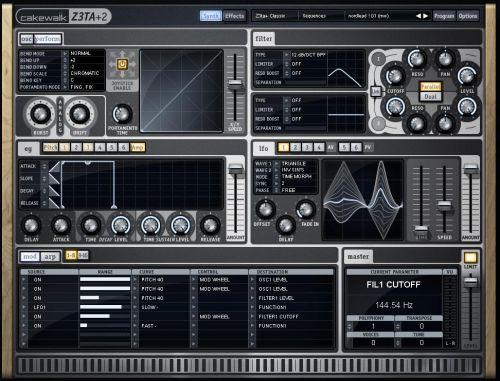 Cakewalk Z3ta+2 Sound Bank