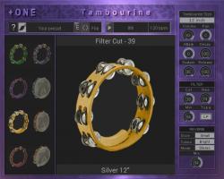 +ONE Tambourine