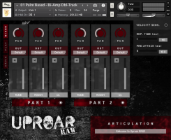 Uproar RAW - 8-String Baritone Guitar for Kontakt