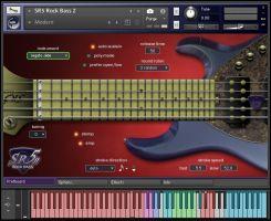 kvr prominy releases sr5 rock bass 2 virtual electric bass guitar for kontakt player. Black Bedroom Furniture Sets. Home Design Ideas
