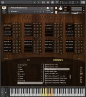 AmberWood Drums (for Kontakt)
