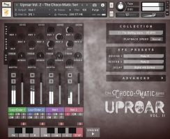 Uproar Vol. 2 for Kontakt - The Choco·Matic Series