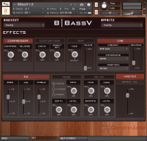 Chocolate Audio BBassV Electric Bass for Kontakt