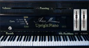 Adam Monroe's Upright Piano