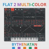 Xfer Records - Serum FLAT2 MULTI-COLOR Skin ByThenatan