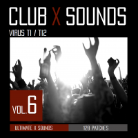 Ultimate X Sounds releases CLUB X 6 for Access Virus Ti / Ti2 / SNOW