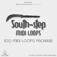 South-step MIDI loops package vol.1