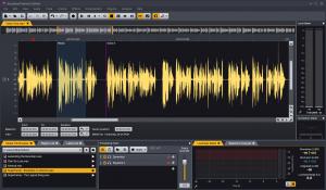 The clip editor in Acoustica 7