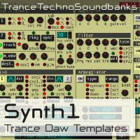 SYNTH1 TRANCE TEMPLATES