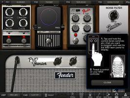 AmpliTube Fender for iPad