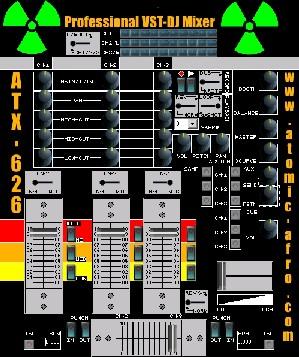 ATX-626 VST-DJ Mixer