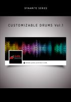 Audio District - CUSTOMIZABLE DRUMS Vol.1. (Serum Synthesized 110 presets & 1100+ Preset Samples Multi Sampled)