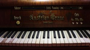 Adam Monroe's Austrian Grand Piano