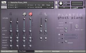 Plastic Ghost Piano