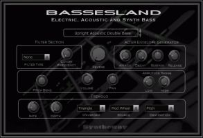 Bassesland Electric, Acoustic and Synth Bass