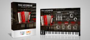 Folk Accordion - virtual instrument plugin (Pc/Mac VST, AU)