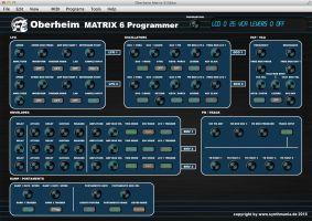 Oberheim Matrix 6 Editor