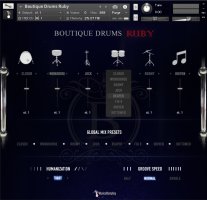 Boutique Drums - Ruby