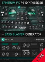 Spherum FX Re-Synthesizer + BassBlaster BUNDLE!