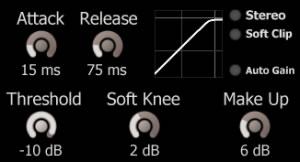 Fast Soft Knee Limiter