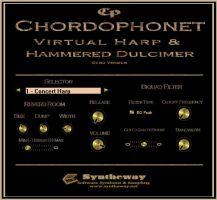 Chordophonet Virtual Harp and Hammered Dulcimer