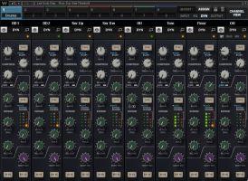 CLA MixHub Dynamics Section